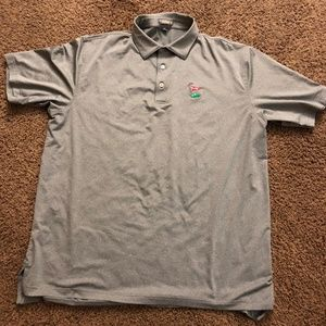PM Solid (Grey) Stretch Jersey Summer Comfort Polo